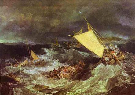 The Shipwreck - J.M.W. Turner