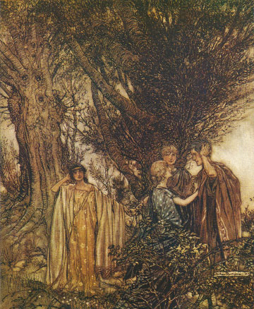 A Midsummer Night's Dream by Arthur Rackham