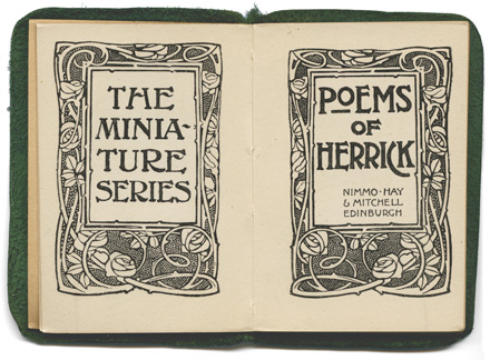 Poems of Herrick book