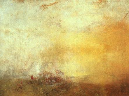 Sunrise With Sea Monsters - J.M.W. Turner