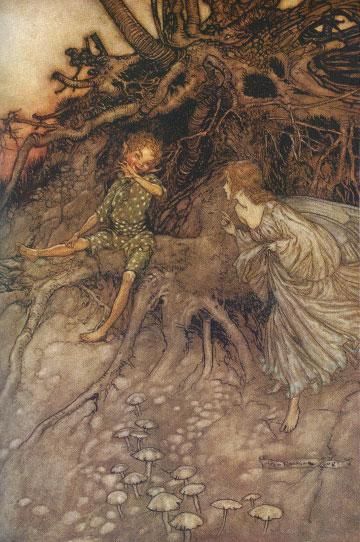 A Midsummer Night's Dream by Arthur Rackham