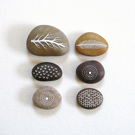Painted Stones © by Natasha Newton
